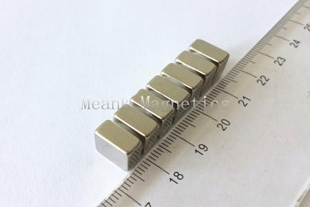10x10x5mm neomagnetos quadrados